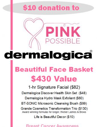 Dermalogica basket -430 value